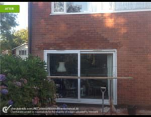 Fixing Broken Brickwork - After