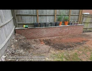 After Retaining Wall