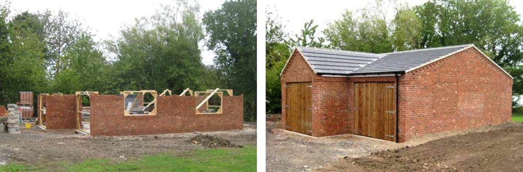 home extension building